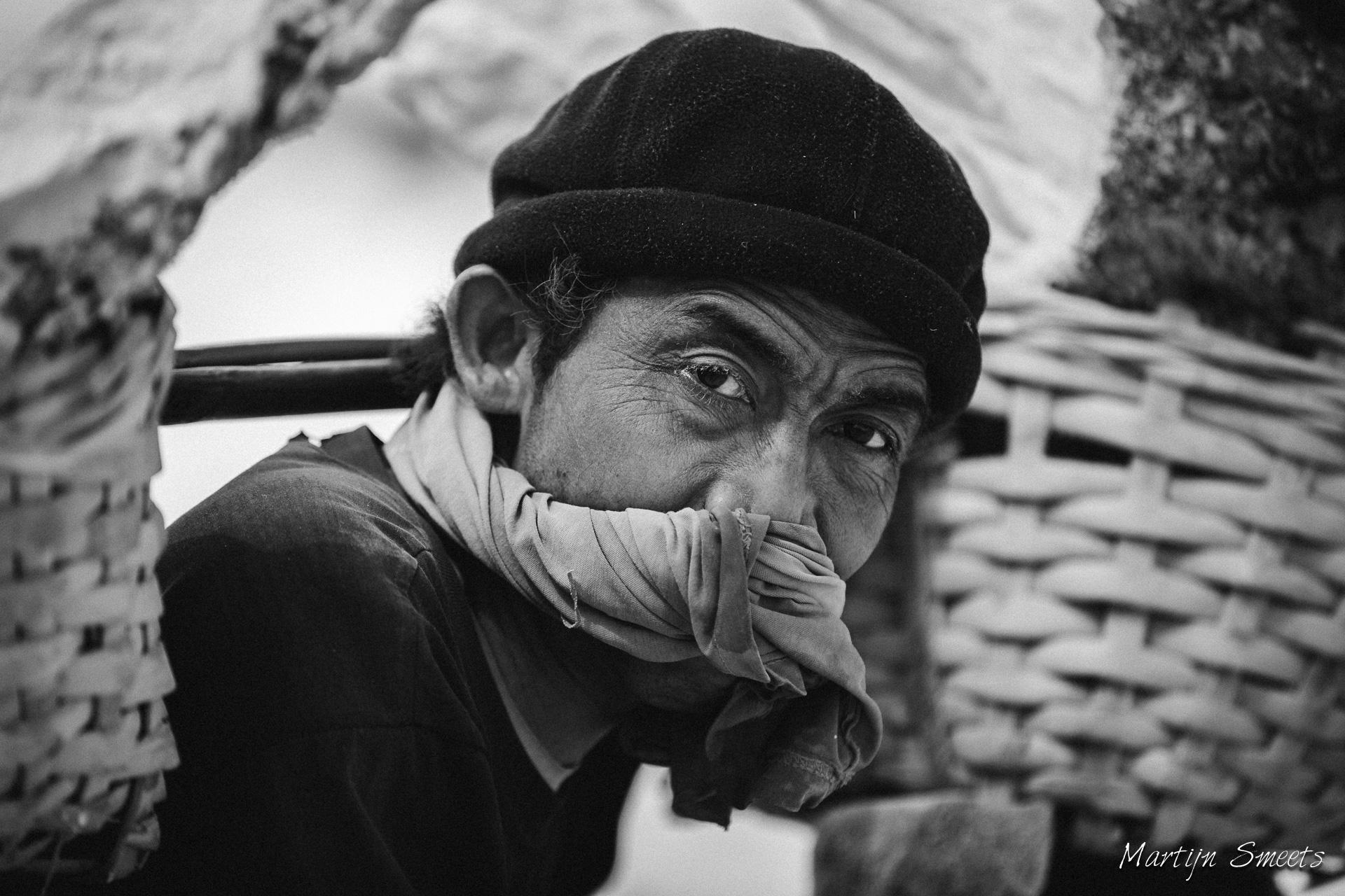 Mijnwerker Kawah Ijen