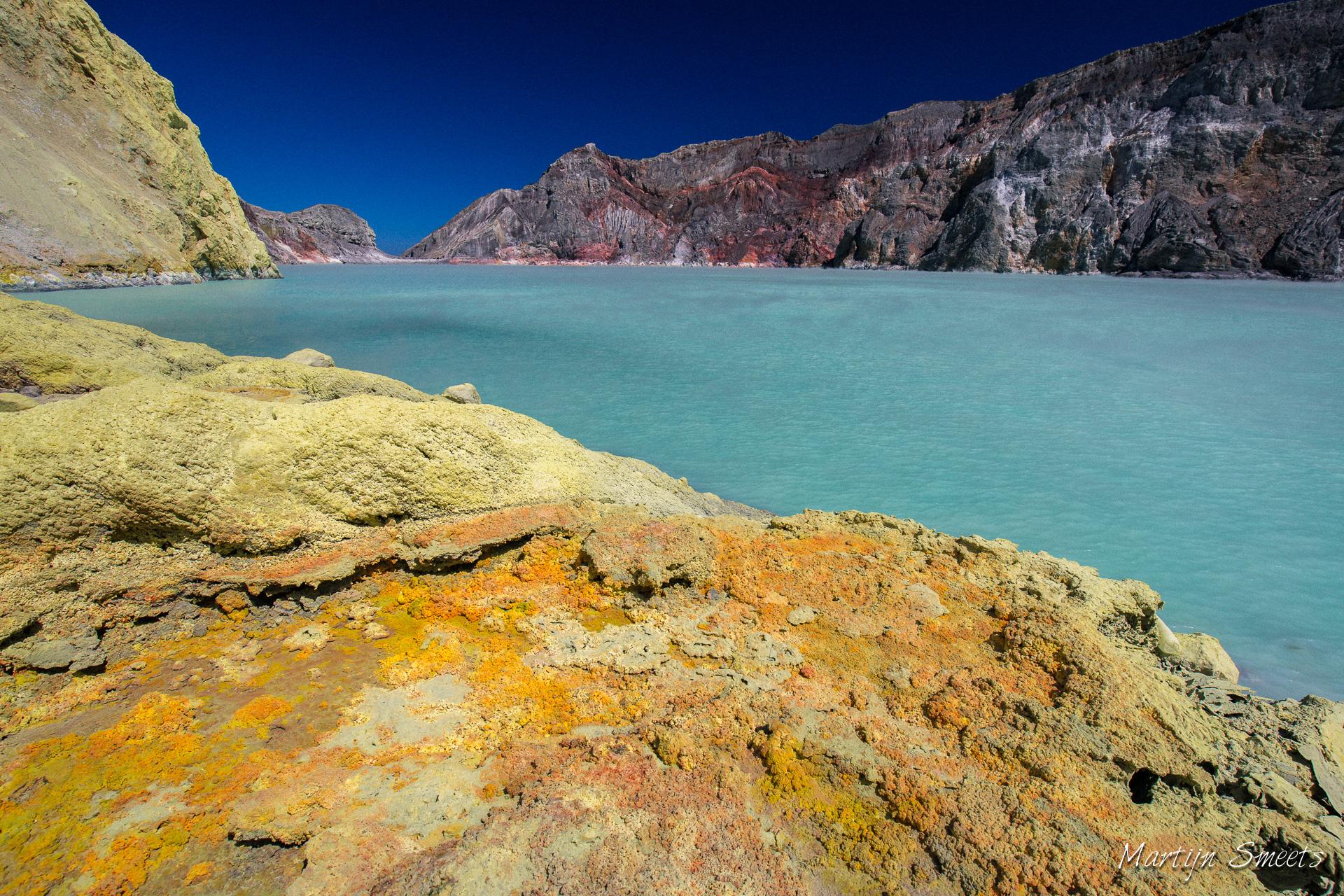 Kratermeer Kawah Ijen