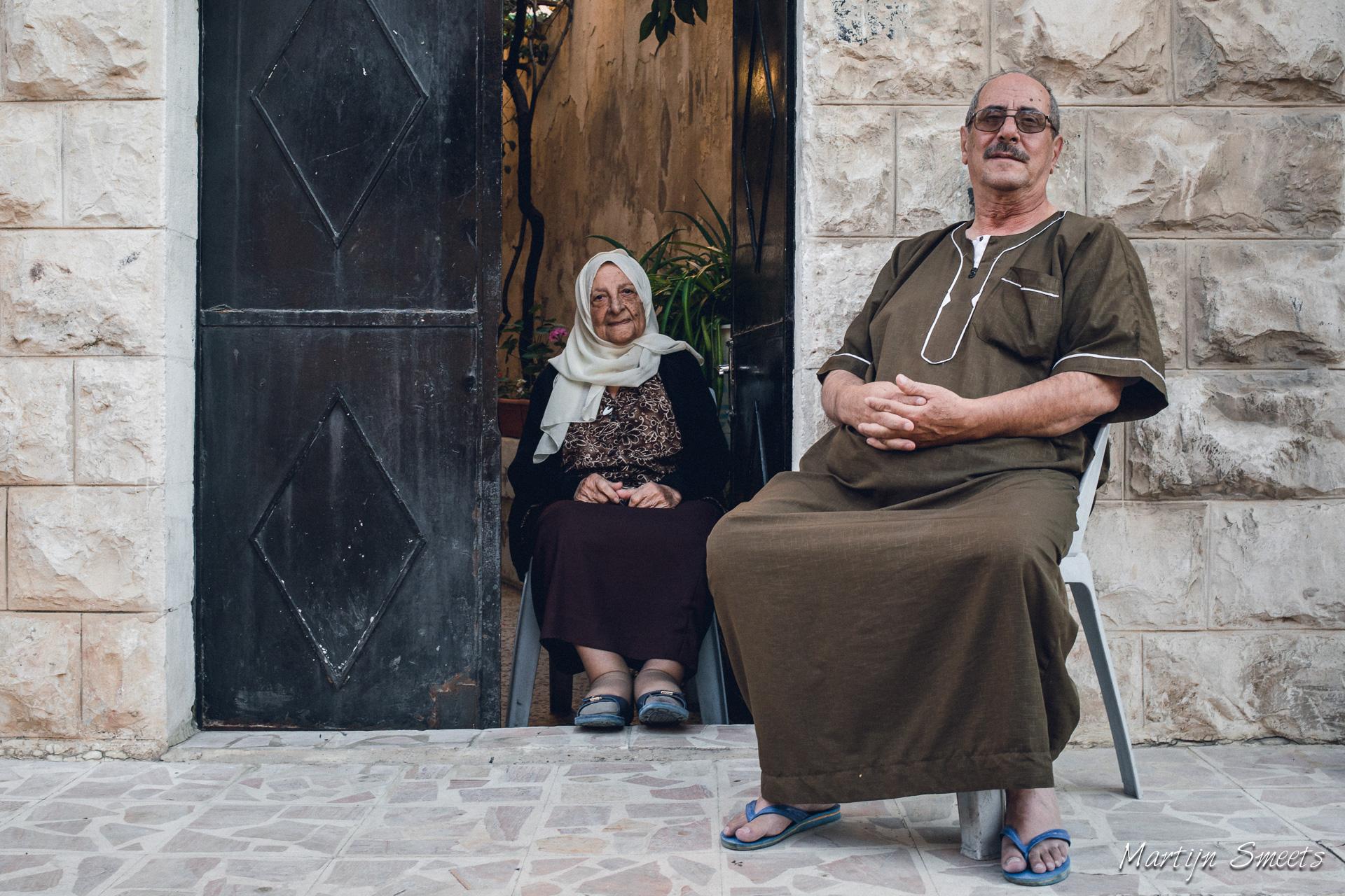 Straatportret in Amman, Jordanië