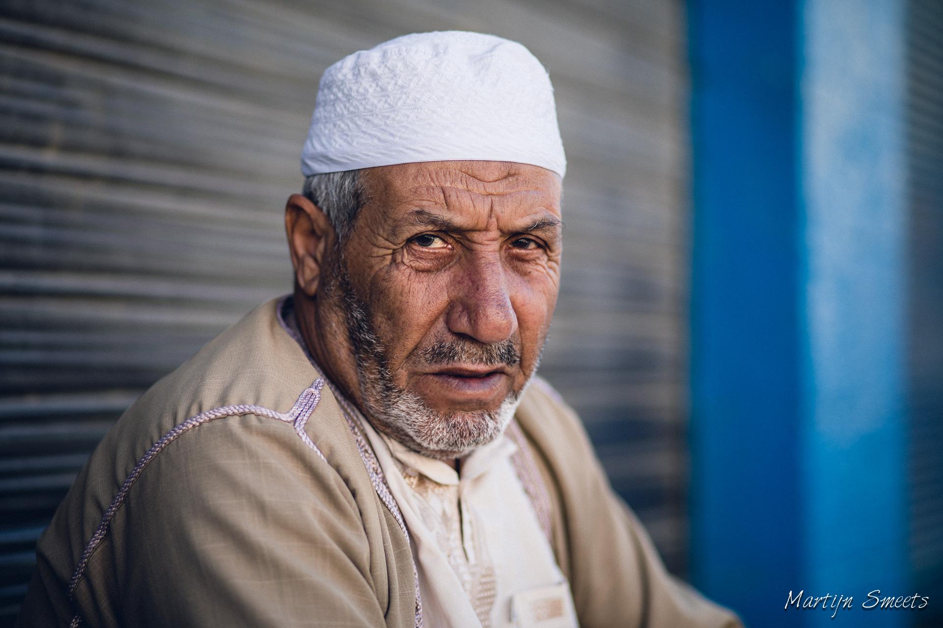 Straatportret in Madaba, Jordanië