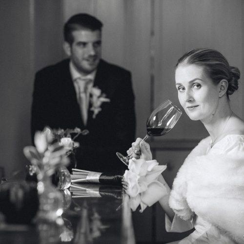 Bruidsportretten - Zwart-wit