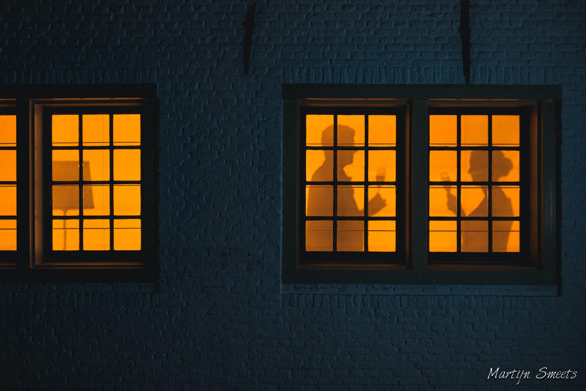 Trouwreportage - Silhouet