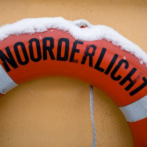 Reddingsboei van zeilschip Noorderlicht
