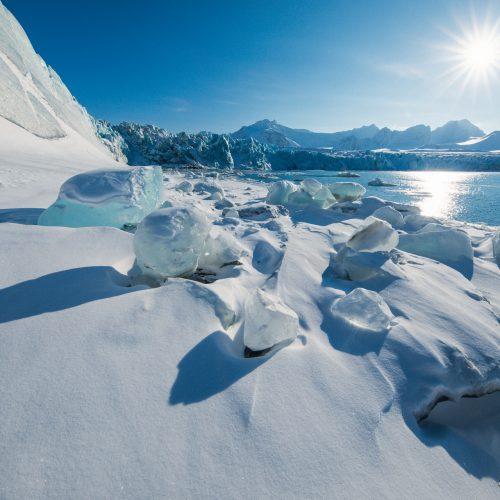 Fjortende Julibreen, Spitsbergen