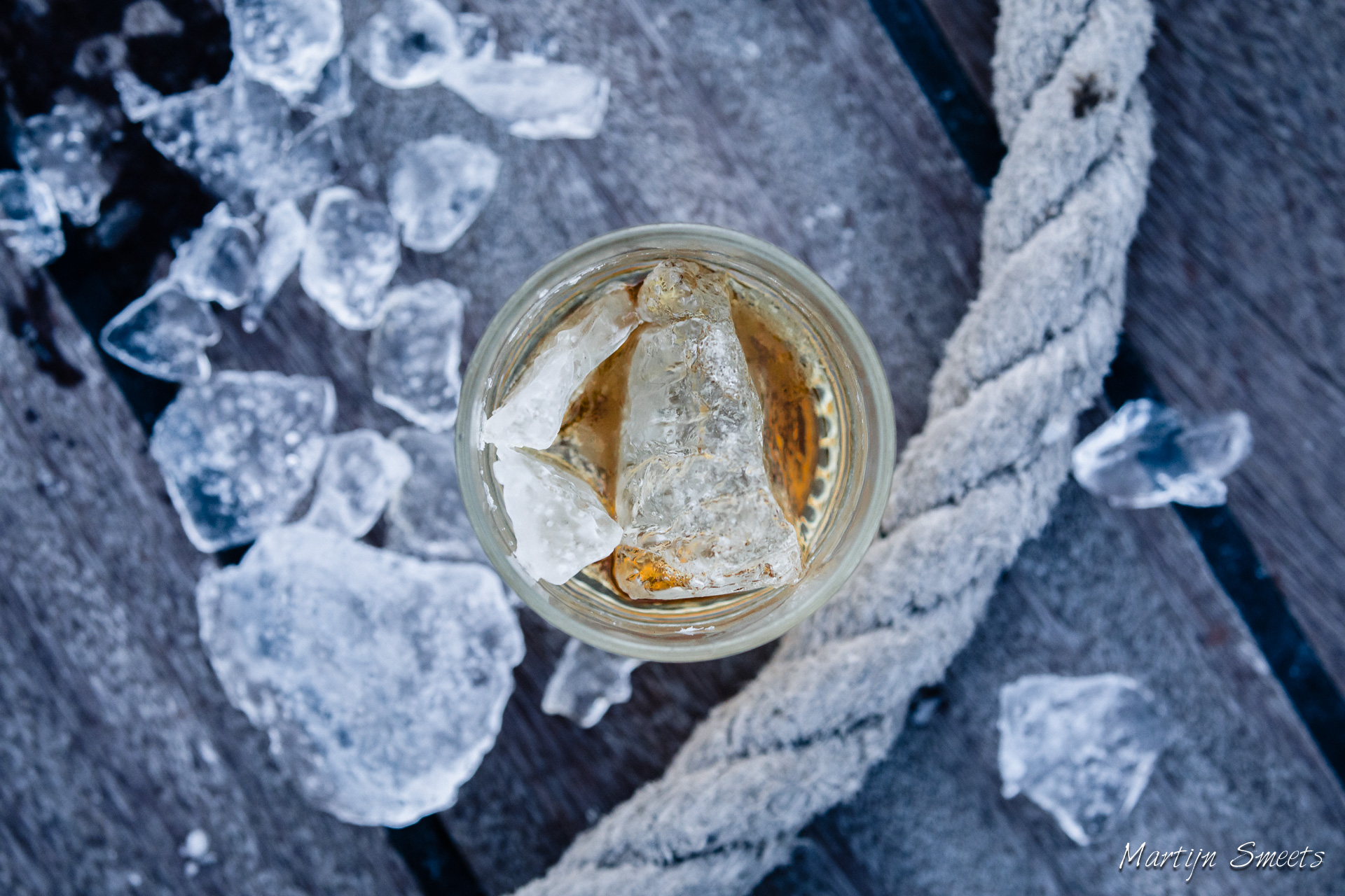 Whisky on the Spitsbergen Rocks