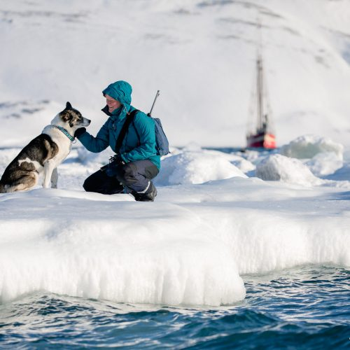 Sarah Gerats en Nemo, Spitsbergen