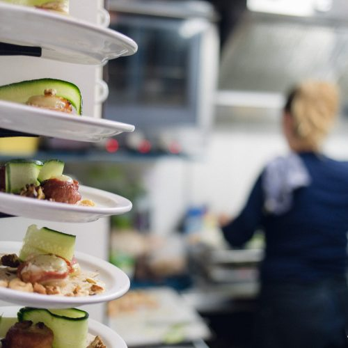 De keuken van zeilschip Noorderlicht