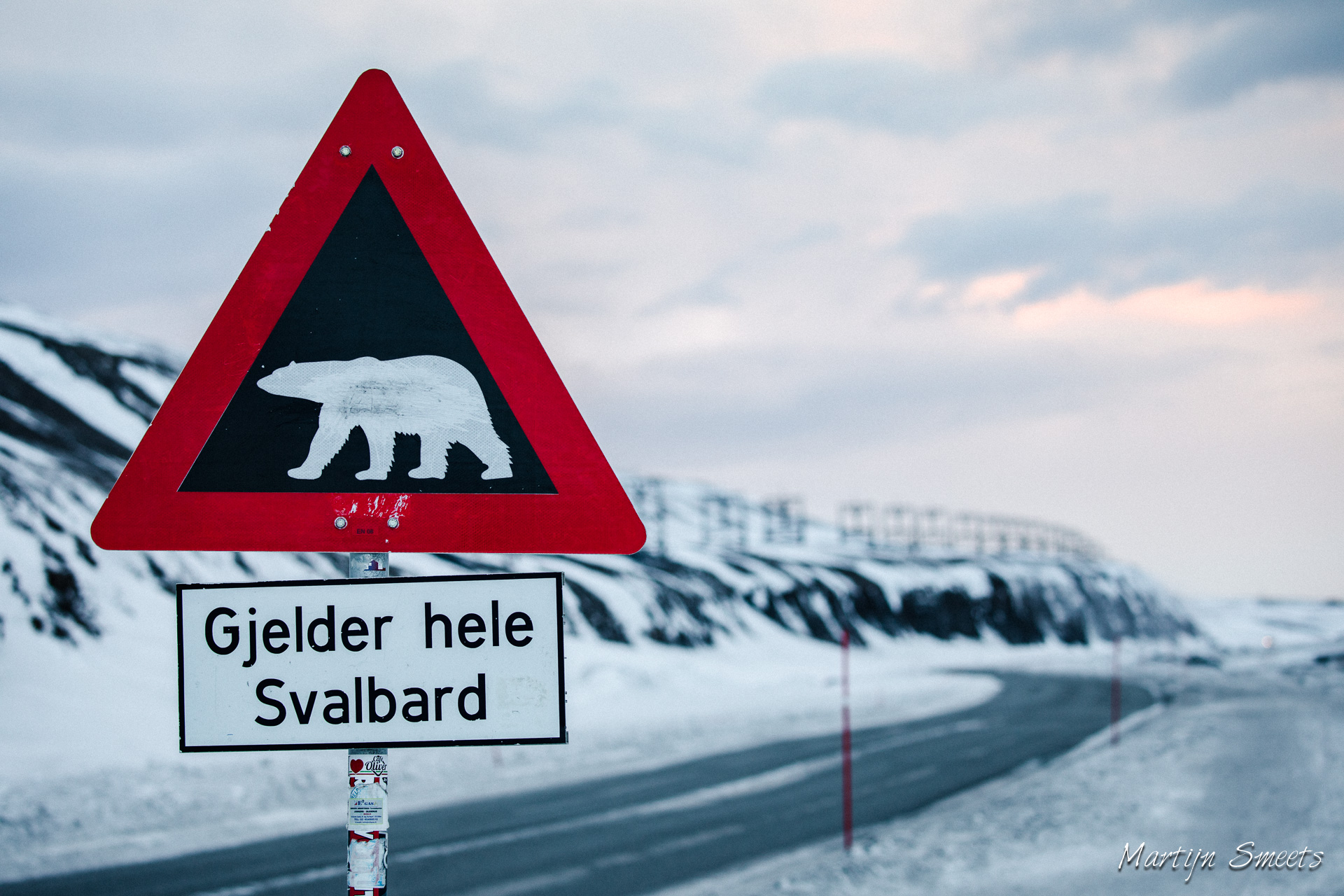 Polar Bear Sign, Longyearbyen