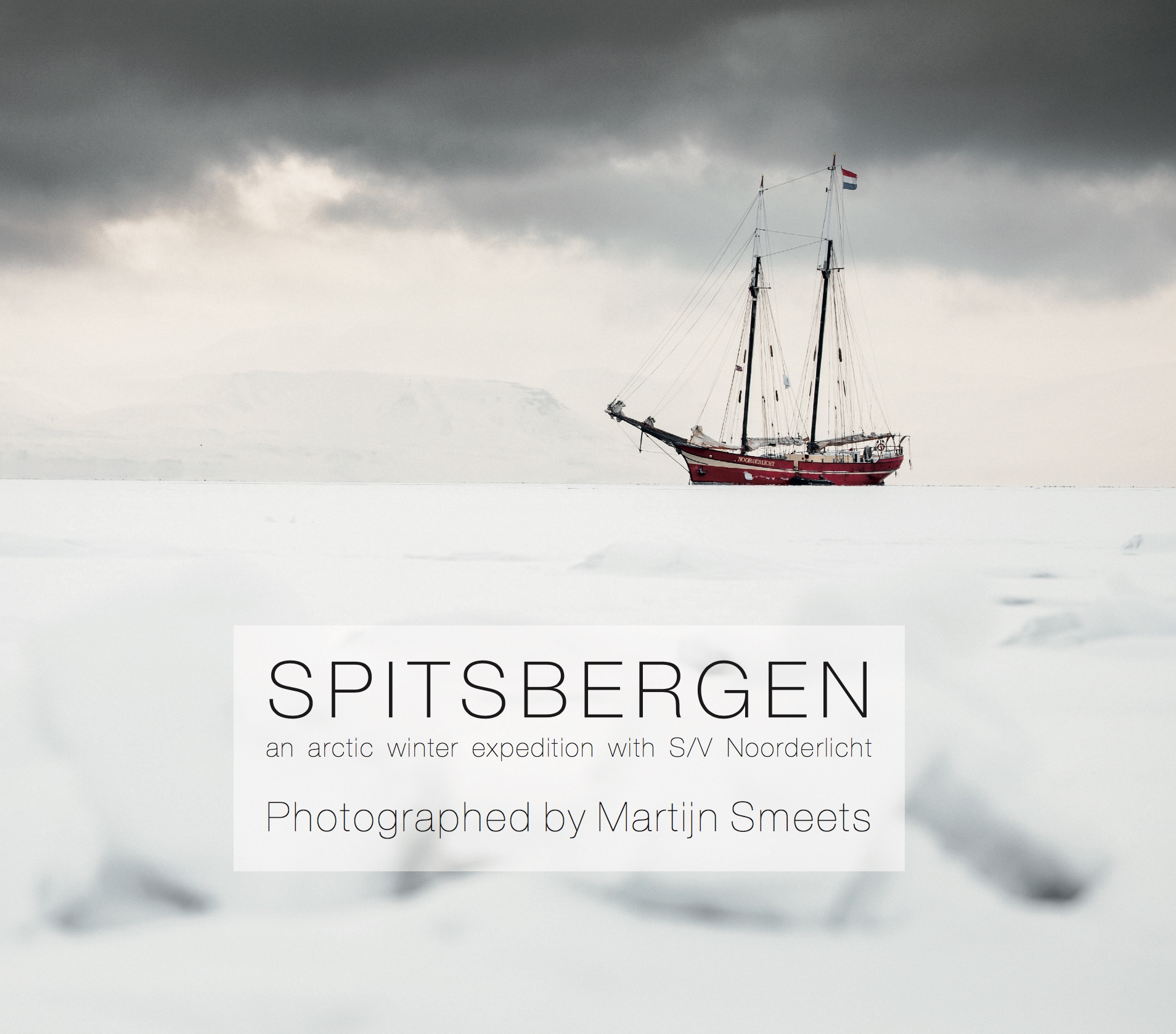 Cover Fotoboek Spitsbergen